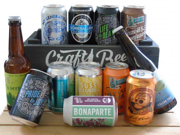 CraftiBeer beer selection