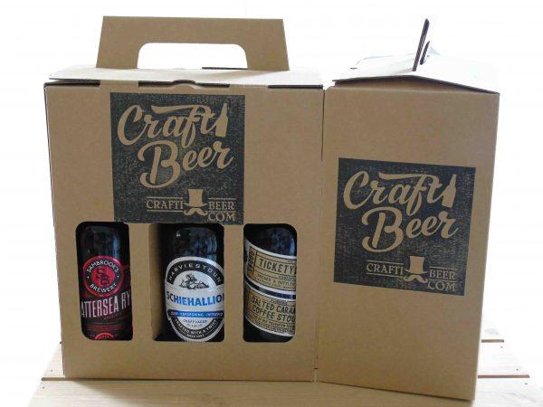 CraftiBeer beer gift box selection