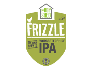 The Hop Shed Frizzle IPA logo
