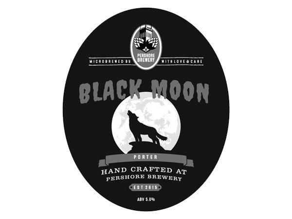 Pershore brewery Black Moon porter