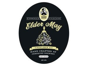 Pershore brewery elder may elderflower ale