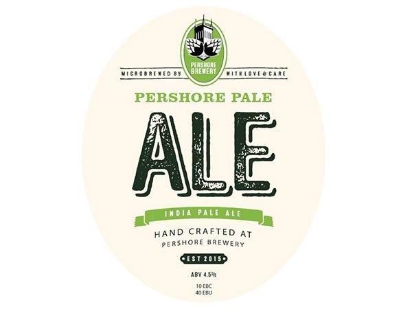 Pershore brewery IPA