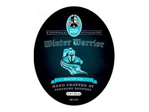 Pershore brewery Winster Warrior beer