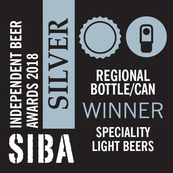 SIBA silver award badge