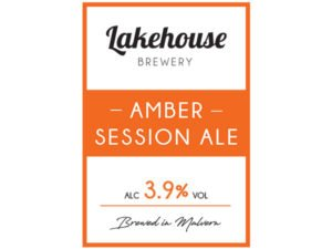 Lake House Brewery Amber Session Ale
