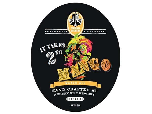 Pershore brewery It Takes 2 To Mango ale