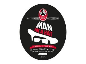 Pershore brewery Man in a Hat American Pale Ale