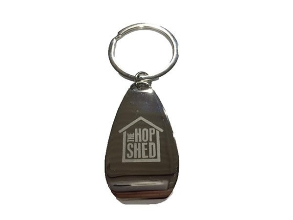The Hop Shed Brewery key ring