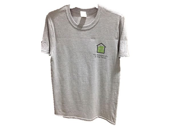The Hop Shed Brewery tshirt