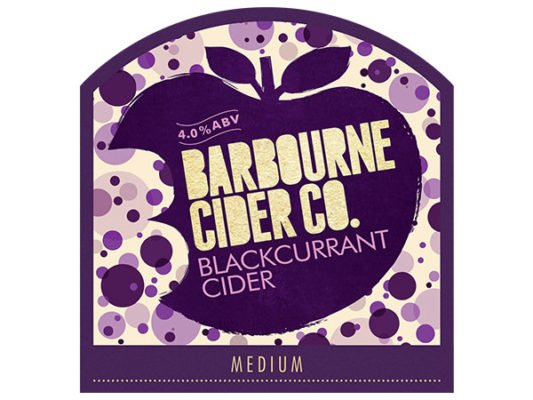 Barbourne Cider Co., Blackcurrant medium cider bag in box