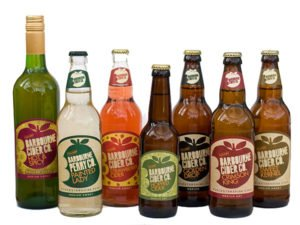Barbourne Cider Co. cider bottle collection