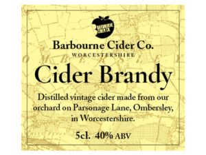Barbourne Cider Co., Cider Brandy, 50ml
