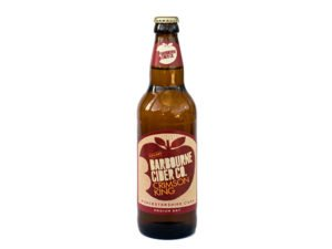 Barbourne Cider Co., Crimson King medium dry cider bottle