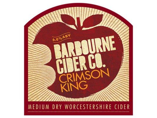 Barbourne Cider Co., Crimson King medium dry Worcestershire cider bag in box