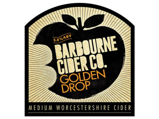 Barbourne Cider Co., Golden Drop medium Worcestershire cider bag in box