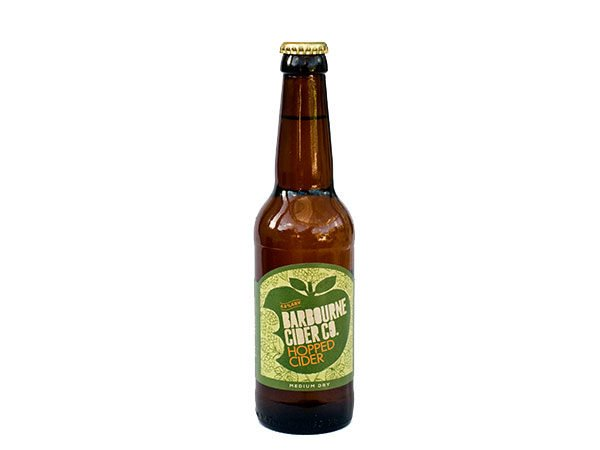 Barbourne Cider Co., Hopped medium dry cider bottle