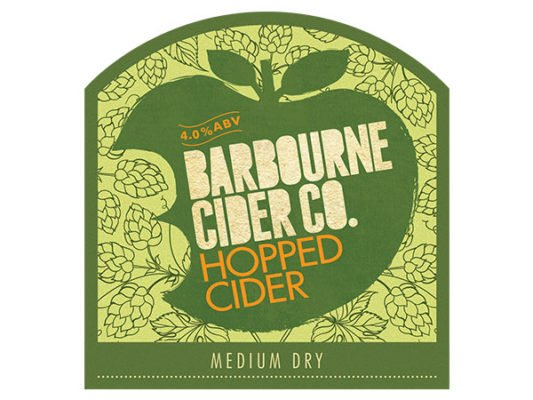 Barbourne Cider Co., Hopped medium dry cider bag in box
