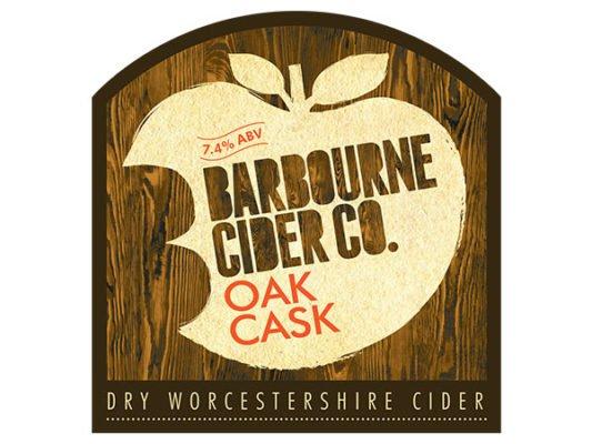 Barbourne Cider Co., Oak Cask dry Worcestershire cider bag in box